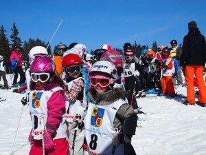 Course de ski des écoles libres